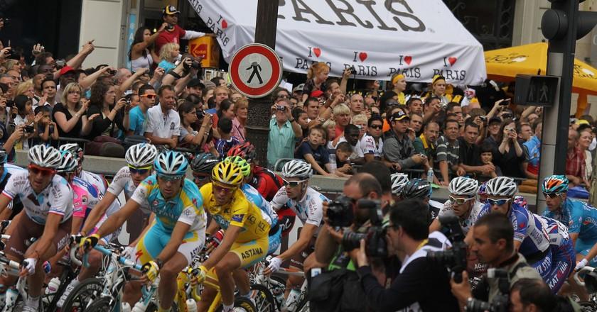 Tour de France 2010 – Champs-Élysées © bibi95/WikiCommons