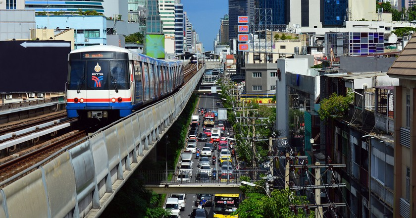 Downtown Bangkok/Courtesy of Pixabay