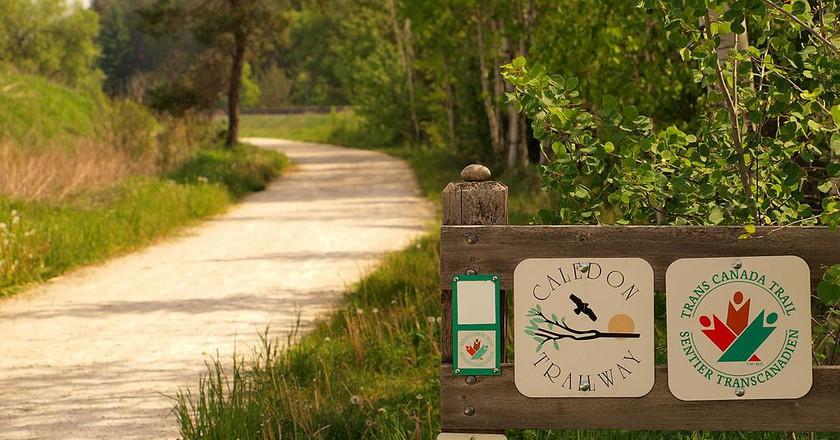 Bike Trek on the Trans Canada Trail | © Michael Gil/WikiCommons