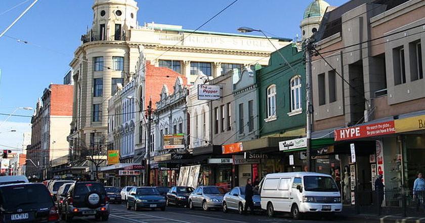 Chapel Street, Prahran, Victoria, Australia | © Mat Connolley (Matnkat)/WikiCommons