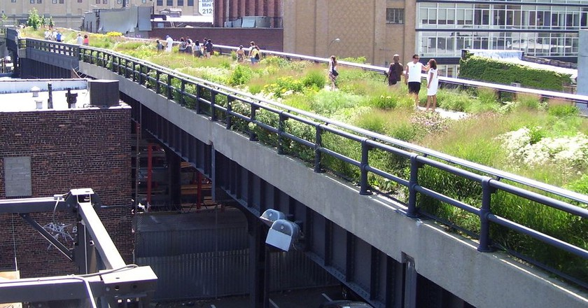 The High Line at 20th Street   © Wikipedia Commons