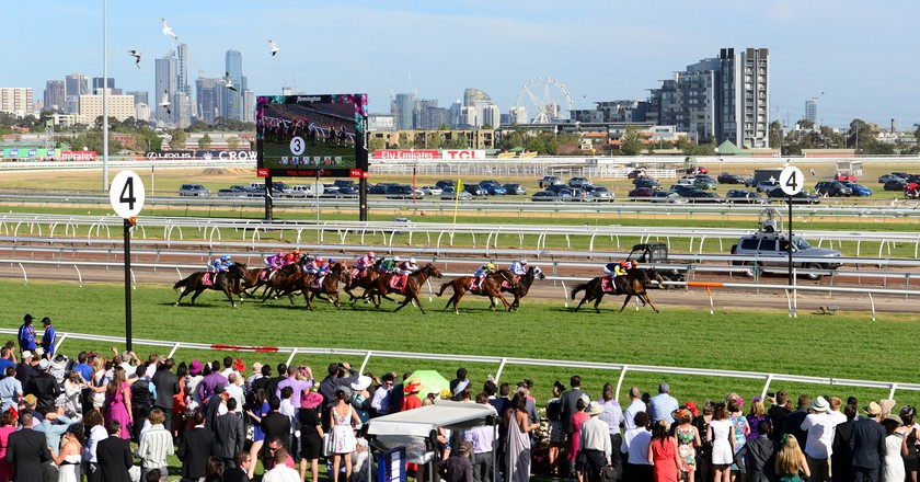 Melbourne Cup in 2013   Chris Phutully/Flickr