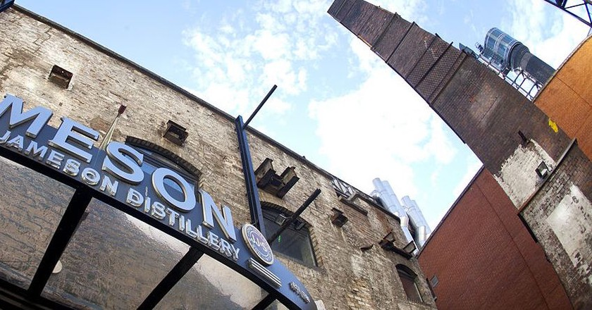 Entrance to the Old Jameson Distillery, Dublin   © IProspectIE/WikiCommons