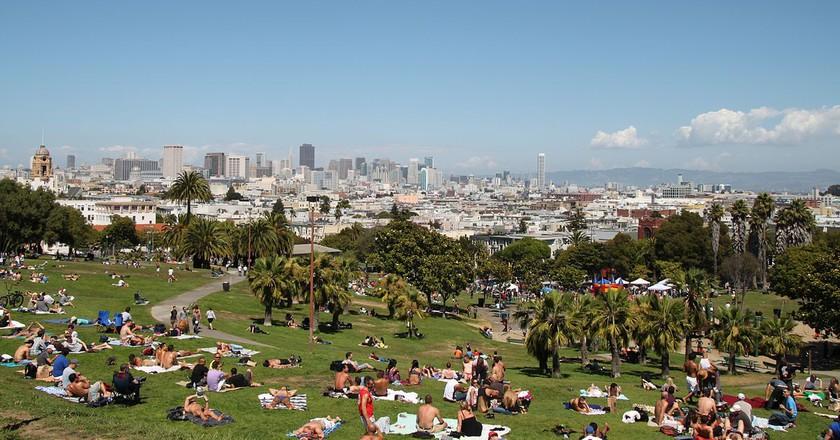 Dolores Park © Tim Bartel/Wikipedia