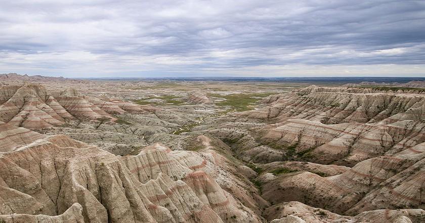 Panorama Point, Badlands National Park   © Martin Kraft/Wikicommons