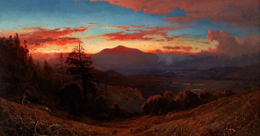 Sunset on Mount Diablo © William Keith/Wikipedia