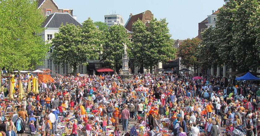 Vrijmarkt at Deventer   © Apdency / WikiCommons