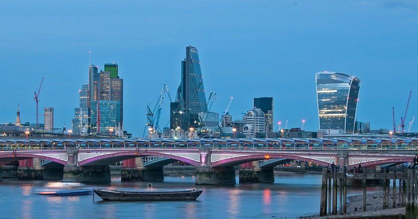 The London skyline|©bvi4092/Flickr
