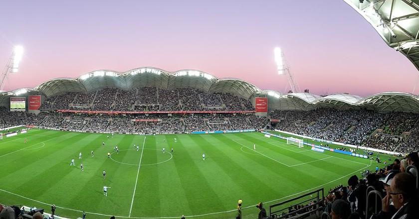 2015 A-League Grand Final AAMI Park panorama | ©Paladisious/WikimediaCommons