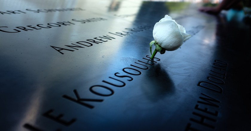 A rose at ground zero. Courtesy of Paolo Braiuca/Flickr/CC By 2.0