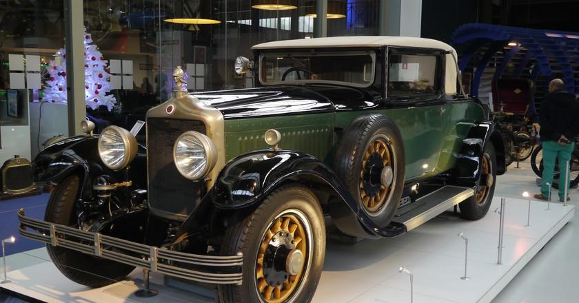 The Autoworld's pièce de résistance: the 1929 Minerva 20 PK AE Coupé, a car built for kings | © Klaus Nahr/Flickr