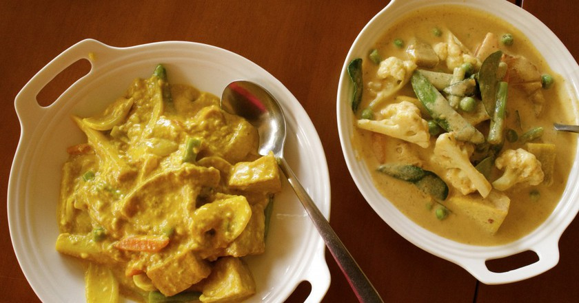Vegetarian Curry at May Veggie Home | © Courtesy of Kelly Iverson