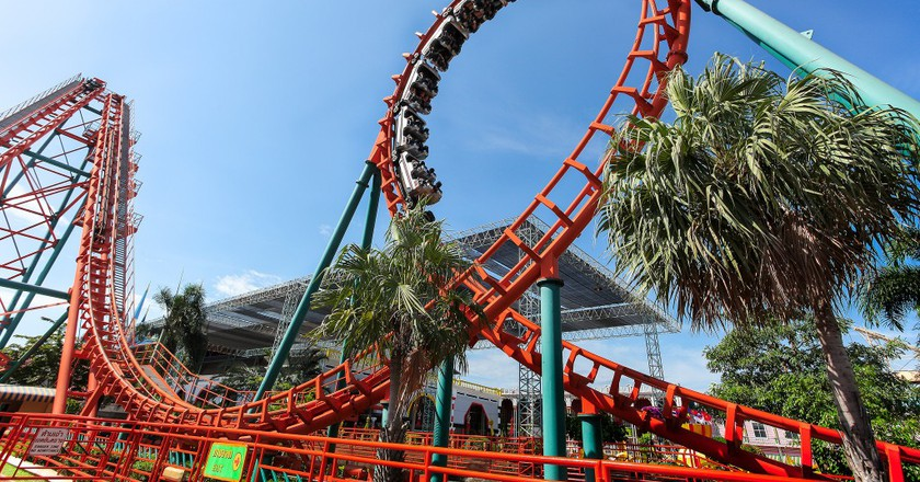 Roller Coaster At Siam City Park   © Courtesy of Siam City Park