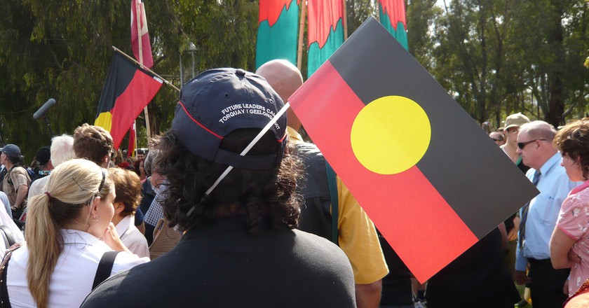 Aboriginal flag | © fredhersch/Flickr