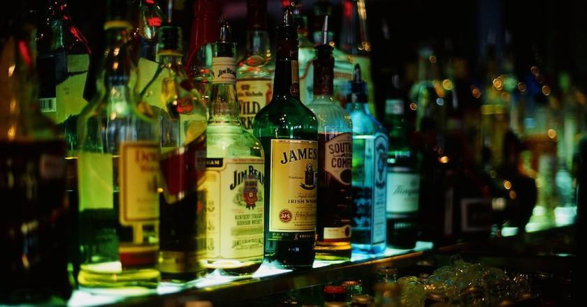 Irish whiskeys | ©theUdødelig/Flickr