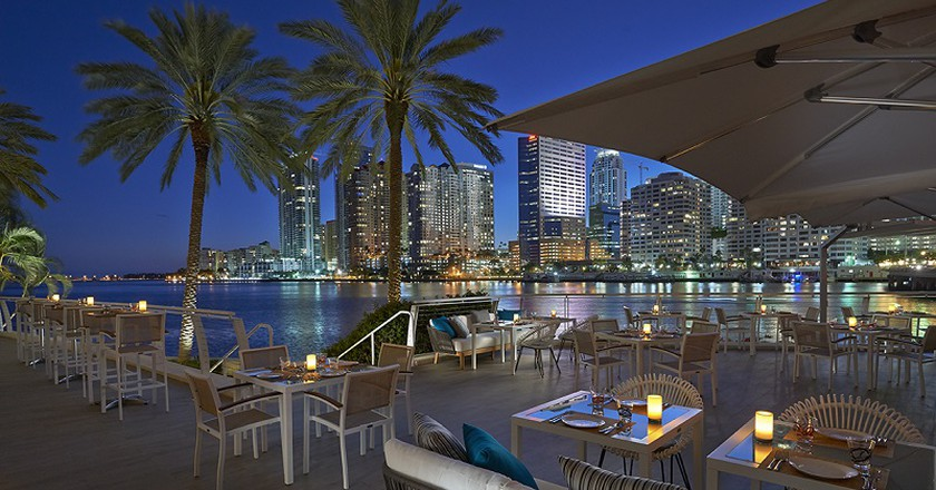 La Mar by Gaston Acurio at the Mandarin Oriental Miami | Courtesy  of The Mandarin Oriental Miami