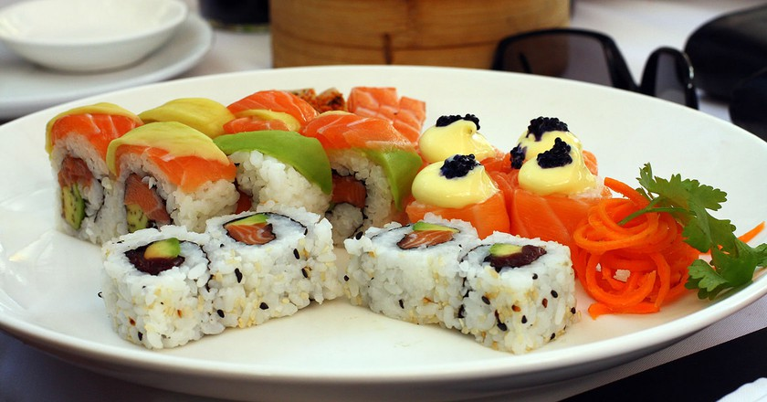 Sushi at Beluga Restaurant, Cape Town © Warren Rohner/Flickr