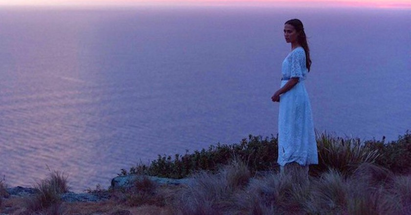 Isabel (Alicia Vikander) in 'The Light Between Oceans' (©Touchstone Pictures)
