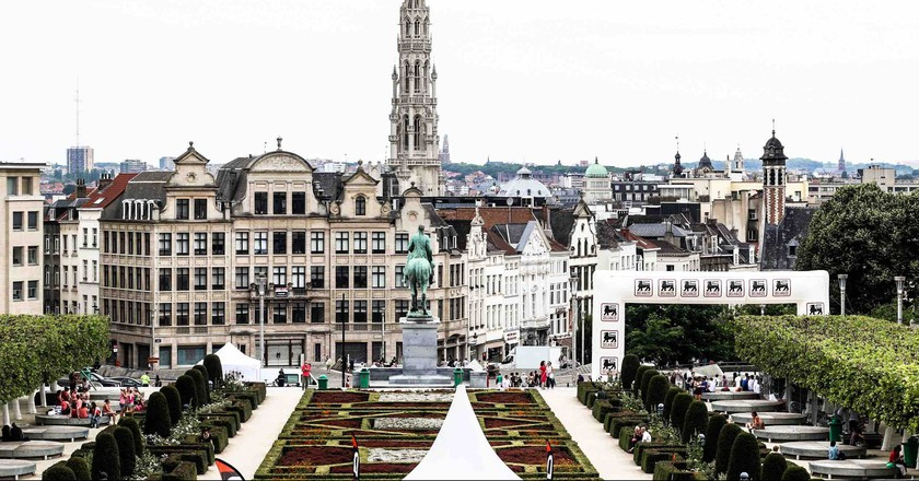 From the stately Mons des Arts garden to the hidden nooks and crannies of Brussels, these seven walking tours all offer completely different perspectives on the metropolis | © Global Enterprises
