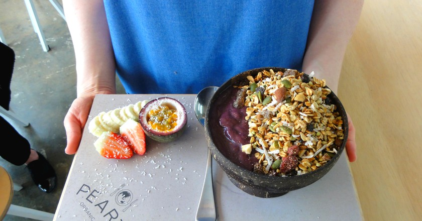 Acai bowl    Courtesy of Pearth Organic Kitchen