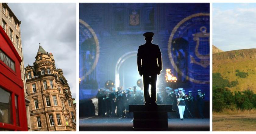 © LASZLO ILYES/Flickr // © DVIDSHUB/Flickr // Courtesy Of This Is Edinburgh