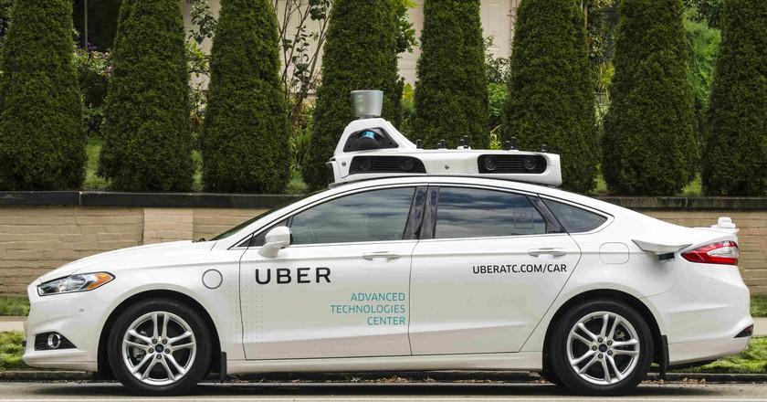 Uber's self-driving car in Pittsburgh | © Uber