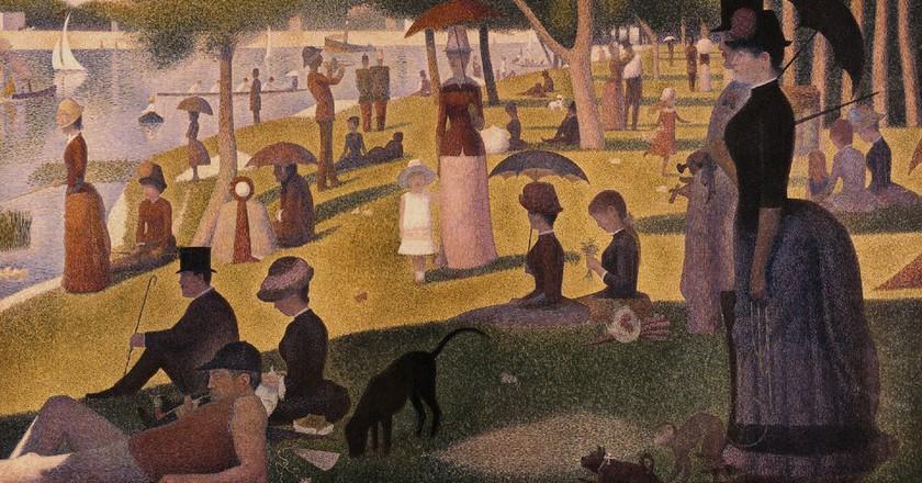 Georges Seurat's Un Dimanche après-midi à l'Île de la Grande Jatte │© cykocurt
