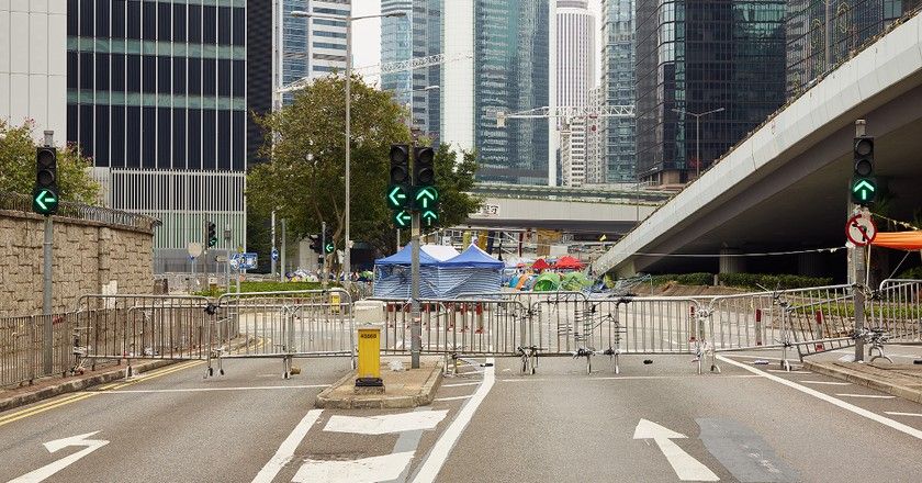 Harcourt Road, December 7, 2014   © Johnny Gin