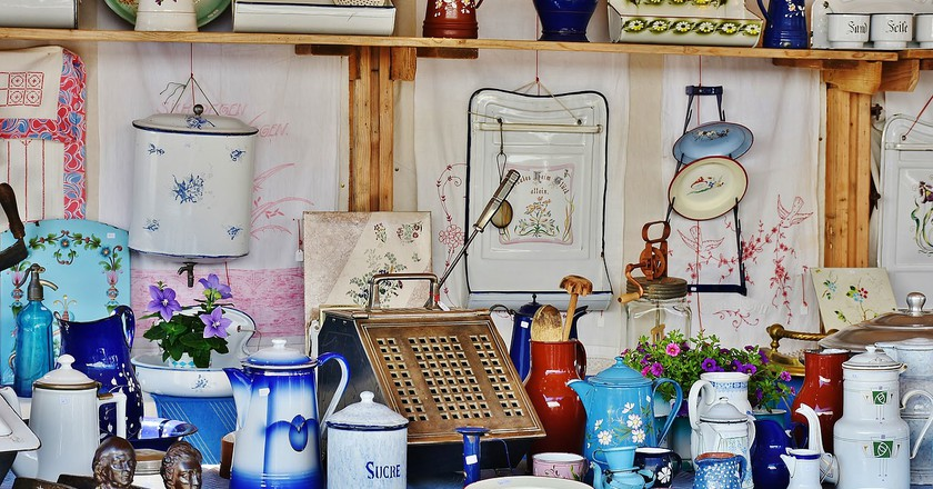 Where To Buy The Best Antiques In Barcelona
