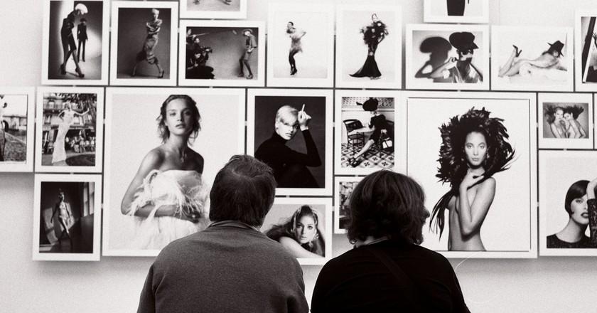 Patrick Demarchelier exhibition at the Petit Palais in 2009 │© Raphaël Labbé