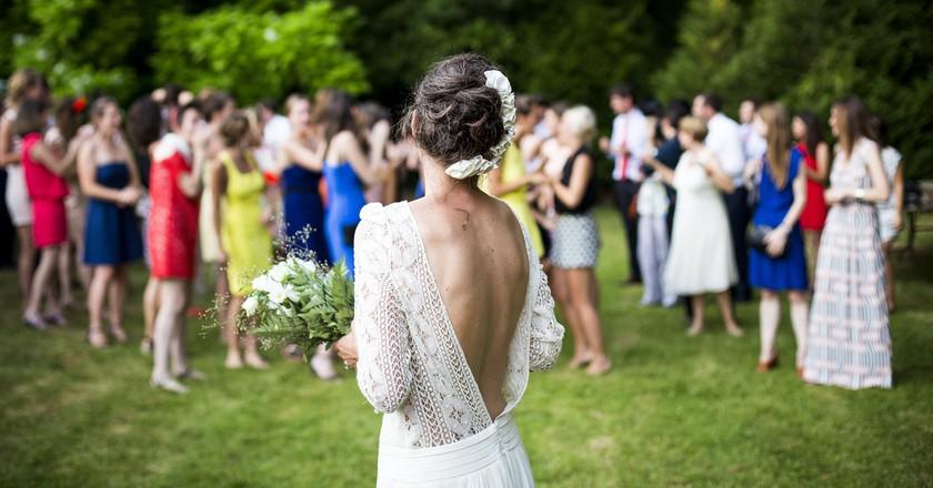 Wedding dress © Pexels