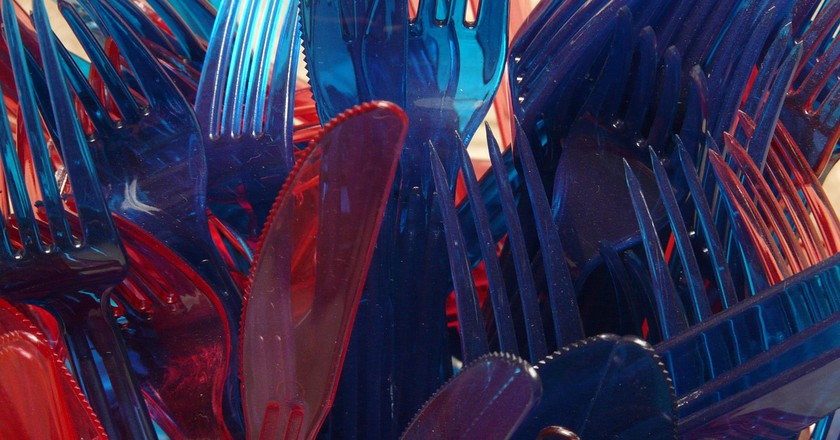 Plastic cutlery │© Hans