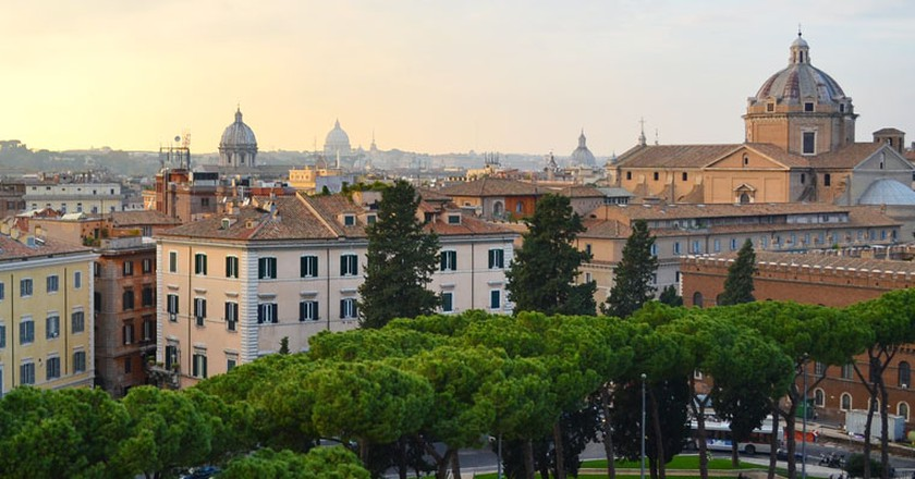 View of Rome from the Capitoline Hill | © Livia Hengel
