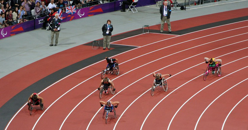 Paralympic athletics |© Bromiskelly/Flickr