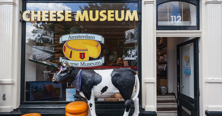 Entrance to Amsterdam's Cheese Museum | © Ivica Drusany/Shutterstock