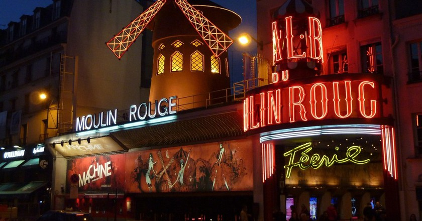 The Moulin Rouge │© Hermann/Pixabay