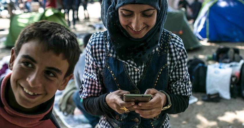 ©Angel Garcia/Refugee Text