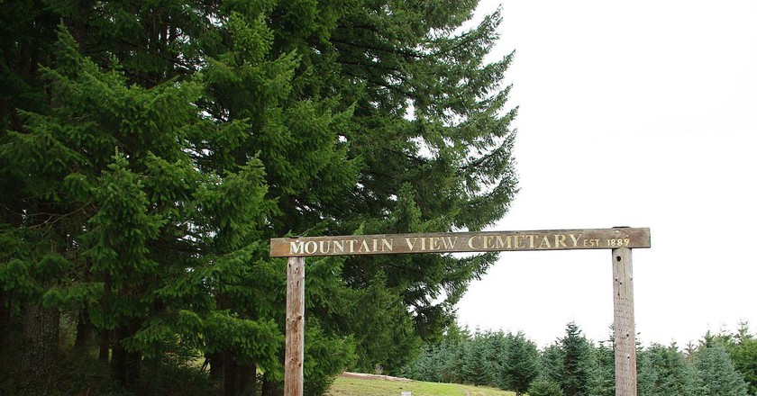 Mountain View Cemetery © M.O. Stevens/Wikipedia