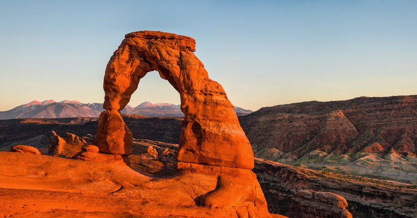 Delicate Arch, Arches National Park | © Robbie Shade/Flickr