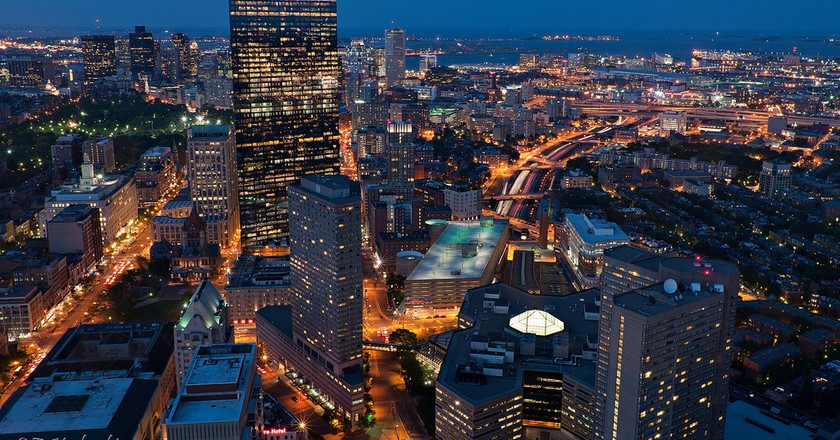 Boston by night | © Emmanuel Huybrechts / Flickr