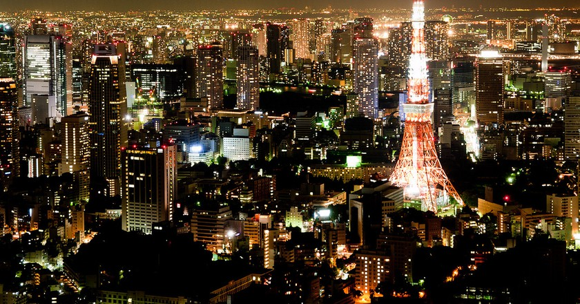 Tokyo panorama as seen from Roppongi Hills | © Gusjer/Flickr