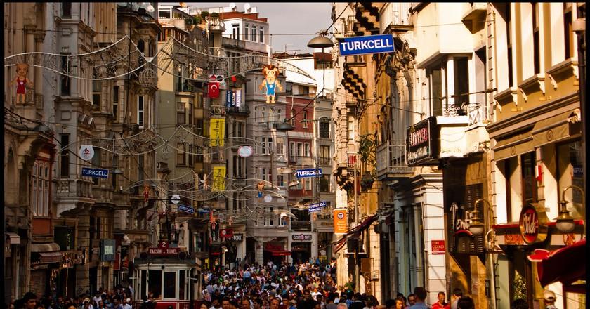 İstiklal Caddesi   © Guillén Pérez
