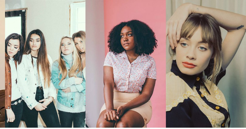 Maggie Rogers, Kelsey Lu, The Aces, Noname, Alexandra Savior |© Facebook/Katia Temkin/Emmanuel Olunkwa