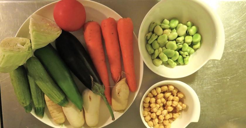 Couscous preparation | © Mandy Sinclair