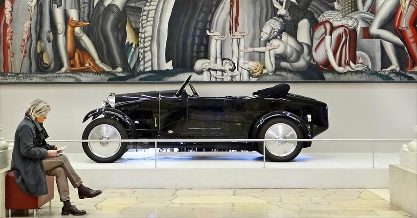 La Vigne et le Vin, 1925, Jean Dupas and Bugatti type 40, 1927 from the exhibition When Art Deco seduced the world │© Jean-Pierre Dalbéra