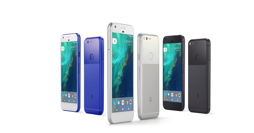 The Google Pixel family of phones | Courtesy Google.