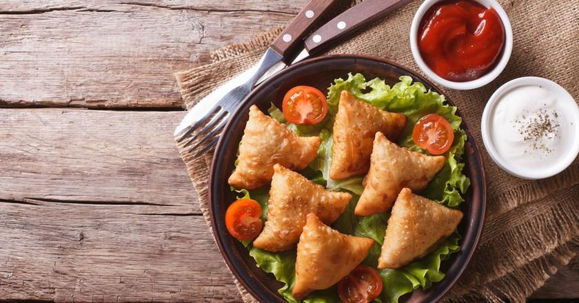 Samosas © AS Food studio / Shutterstock