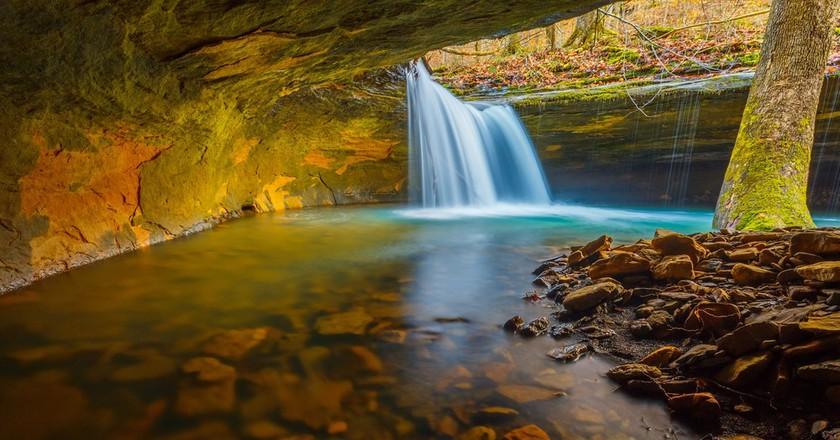 Hidden waterfall in Arkansas | © wxman76/Shutterstock