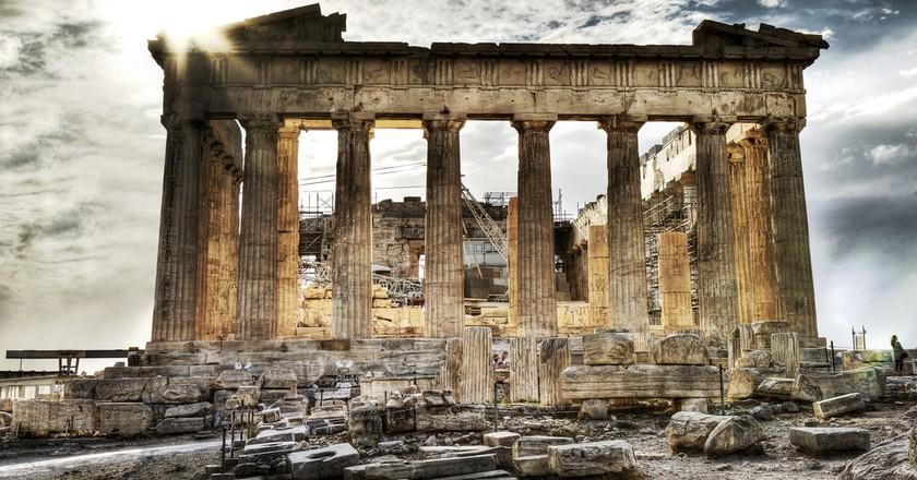 athens greece sites