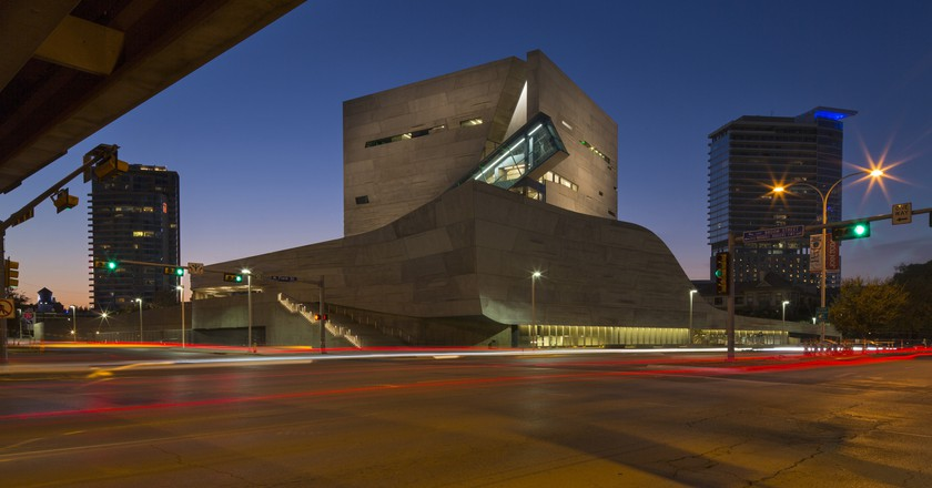 Perot Museum of Nature and Science © Forgemind Architecture/Flickr